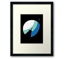 Star Wars: Dark Side of the Moon Framed Print