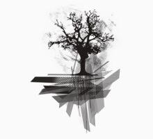 Grunge Tree by ddtk