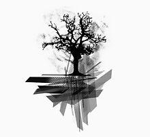 Grunge Tree Unisex T-Shirt