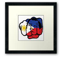 President Duterte Framed Print