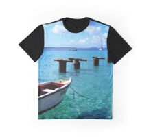 Dingy in clear water Graphic T-Shirt