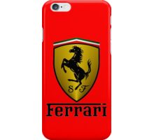 Ferrari (T-shirt, Phone Case & more) iPhone Case/Skin
