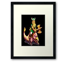 Gilius Thunderhead: Golden Axe Framed Print