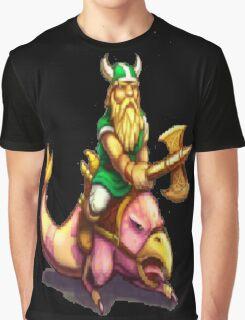 Gilius Thunderhead: Golden Axe Graphic T-Shirt