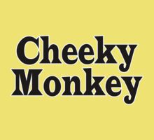 Cheeky Monkey - Toddler Baby Clothing T-Shirt Baby Tee