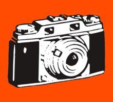 Retro Camera - Photographer T-Shirt Sticker Kids Tee