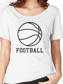 FOOTBALL Women's Relaxed Fit T-Shirt