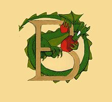 "Oscar and the Roses ""B"" (Illustrated Alphabet) by Donna Huntriss"