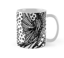 Hole in my Heart - African Pattern in Abstract form  Mug