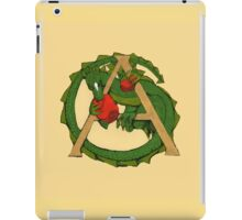 "Oscar and the Roses ""A"" (Illustrated Alphabet) iPad Case/Skin"