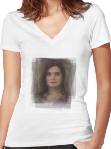 Marie Schrader Breaking Bad Women's Fitted V-Neck T-Shirt