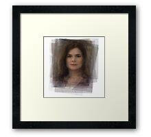 Marie Schrader Breaking Bad Framed Print