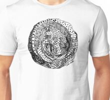 Hole in my Heart - African Pattern in Abstract form  Unisex T-Shirt