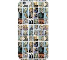 crazy hawkguy iPhone Case/Skin
