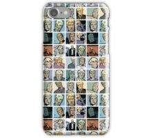 crazy hawkguy iPhone Case/Skin