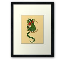 "Oscar and the Roses ""C"" (Illustrated Alphabet) Framed Print"