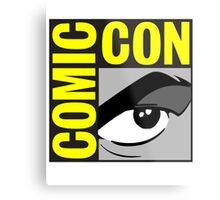 logo comic con Metal Print