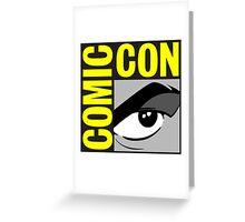 logo comic con Greeting Card