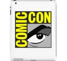 logo comic con iPad Case/Skin