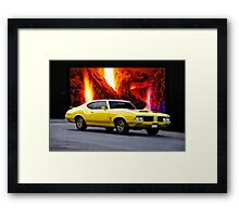1970 Oldsmobile 'Rallye 350' Cutlass Framed Print