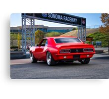 1968 Camaro Rally Sport SS396 'Going Home' Canvas Print