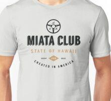 Miata Club of Hawaii One Hipster Print Unisex T-Shirt