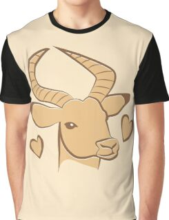 Impala wild african animal Graphic T-Shirt