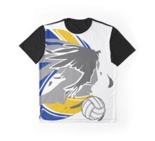 Sporty Haikyuu Bird (Volleyball) - Anime Graphic T-Shirt