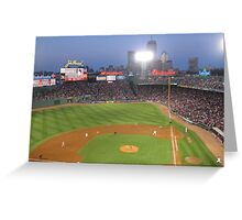 Night Game Greeting Card