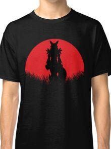 Renamon Digital Monster RED MOON Classic T-Shirt