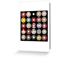 Trojan Records Collectable Vinyl  Greeting Card