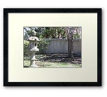 Stone Gatekeeper Framed Print