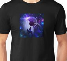 Mini-Planet Spaced Raven - Inverted Unisex T-Shirt