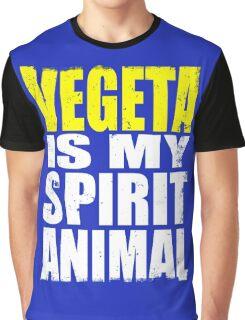 Vegeta is My Spirit Animal Graphic T-Shirt