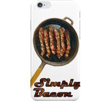 Simply Baccon iPhone Case/Skin