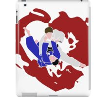 I LOVE JUDO Print iPad Case/Skin