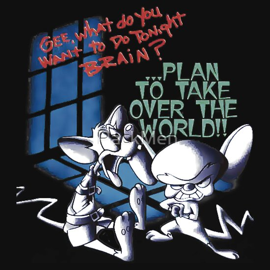 pinky and the brain take over world gifts amp merchandise