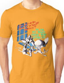 Pinky and Brain Take over The world Unisex T-Shirt