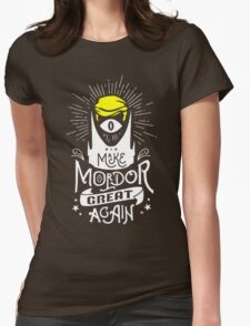 Make Mordor Great Again Womens Fitted T-Shirt