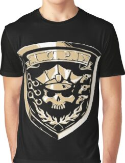 Inferno Cop Police Department Graphic T-Shirt