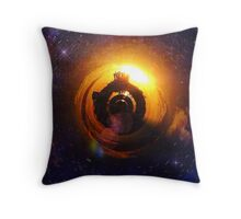 Mini-Planet Insomniac Dreams Throw Pillow