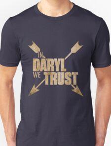 Daryl Dixon The Walking Dead - In Daryl We Trust Unisex T-Shirt