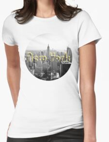 Empire State of Mind Womens Fitted T-Shirt