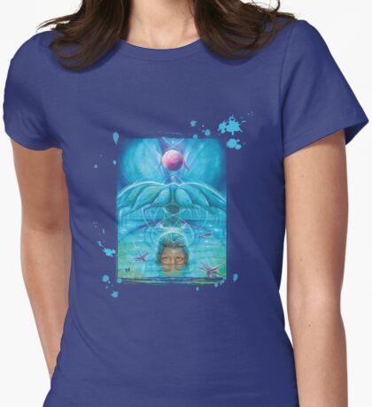 Divine Feminine Womens Fitted T-Shirt