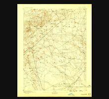 USGS TOPO Map New Jersey NJ Cassville 255151 1888 62500 Unisex T-Shirt