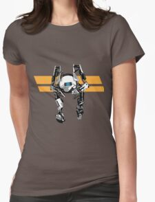 Portal 2 - Short Robot Womens Fitted T-Shirt