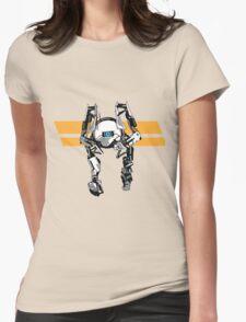Portal 2 - Short Robot Womens Fitted T-Shirt