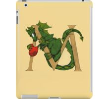 "Oscar and the Roses ""M"" (Illustrated Alphabet) iPad Case/Skin"
