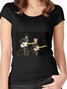Puttin' On A Great  Show Women's Fitted Scoop T-Shirt