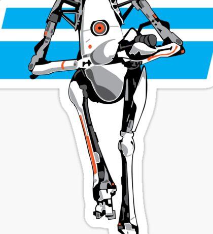 Portal 2 - Tall Robot Sticker